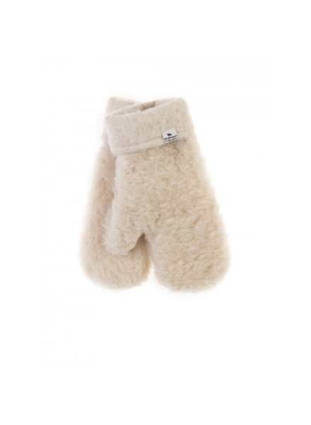 Alwero teddy wollen wanten FREEZE  - 100% teddy wol - beige - kind tm volwassen