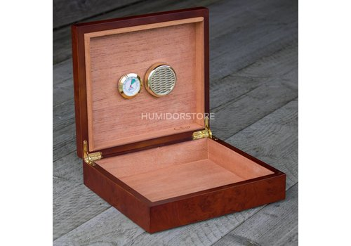 Coombes & Claymore Humidor Westminster Brown