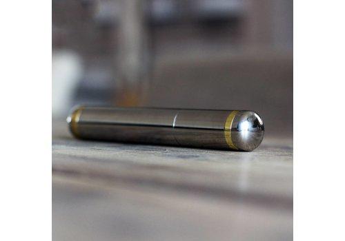 Metal cigar case