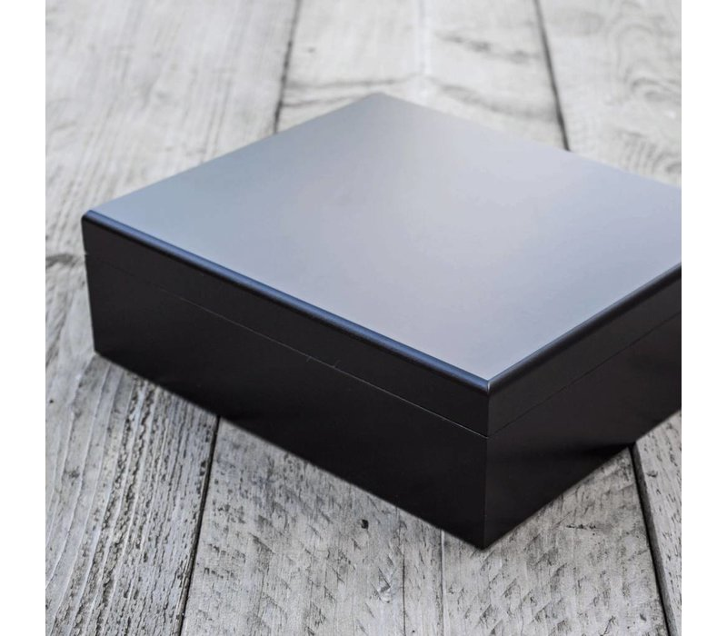 Humidor bookwill - Black set