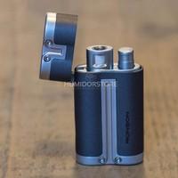 Cigar lighter Ronson - Barrel Turbo dark grey