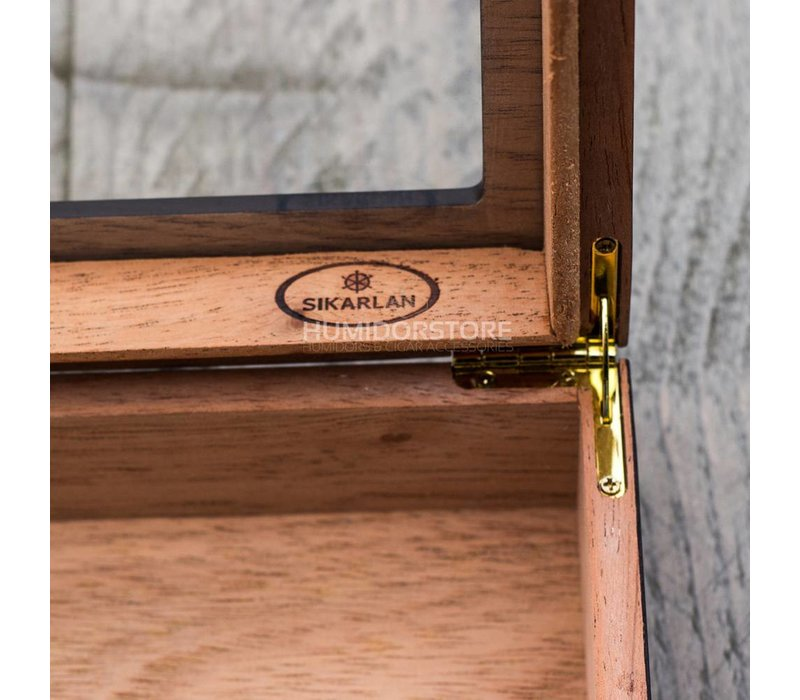 Humidor Chelsea  dark brown