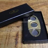 Guillotine Cigar Cutter Gold