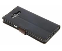 TPU Booktype Hülle Schwarz für Samsung Galaxy A5