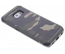 Grüne Camouflage Hardcase-Hülle für Samsung Galaxy S6 Edge