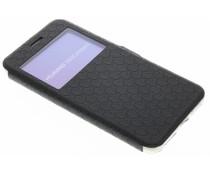 Schwarze Rauten-Hülle für Huawei Y5 2/Y6 2 Compact