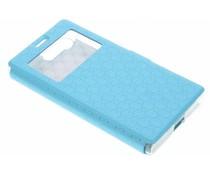 Blaue Rauten-Hülle für Sony Xperia X Compact