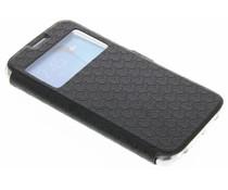 Schwarze Rauten-Hülle für Samsung Galaxy S6 Edge