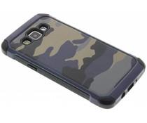 Blaue Camouflage Hardcase-Hülle für Samsung Galaxy A5