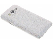 Glamour Hardcase-Hülle Silber für Samsung Galaxy J5