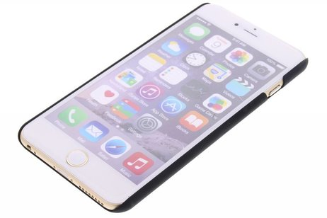 iPhone 6(s) Plus hülle - Schwarze unifarbene Hardcase-Hülle für