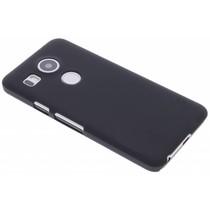 Schwarze unifarbene Hardcase-Hülle für LG Nexus 5X