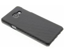 Carbon Look Hardcase-Hülle Schwarz für Samsung Galaxy A3 (2016)