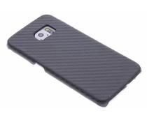 Carbon Look Hardcase-Hülle Schwarz für Samsung Galaxy S6 Edge