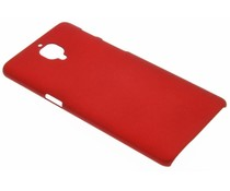 Rote unifarbene Hardcase-Hülle für OnePlus 3 / 3T
