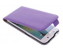 Violettes Luxus Flipcase für Samsung Galaxy S6 Edge