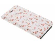 Flamingo Design Booklet für iPhone 8 / 7
