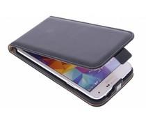Selencia Luxus Flipcase für Samsung Galaxy S5 (Plus)/Neo - Schwarz