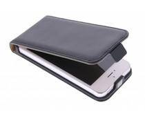 Selencia Luxus Flipcase für iPhone 5/5s/SE - Schwarz