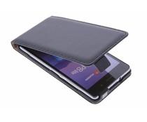 Selencia Luxus Flipcase für Huawei P8 Lite - Schwarz