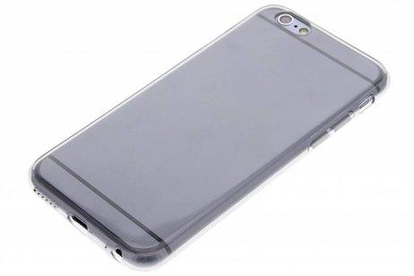iPhone 6 / 6s hülle - Graues transparentes Gel Case