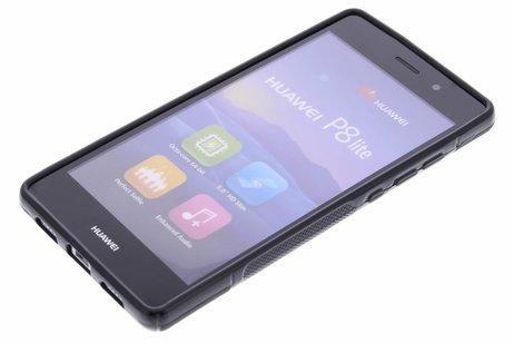 Huawei P8 Lite hülle - Schwarze S-Line TPU Hülle