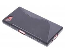 Schwarze S-Line TPU Hülle für Sony Xperia Z5 Compact