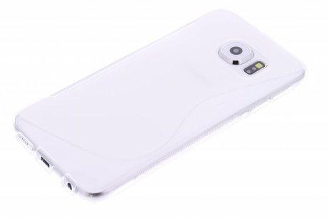 Samsung Galaxy S6 hülle - Transparente S-Line TPU Hülle