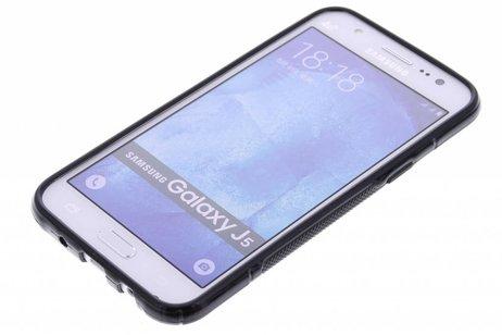 Samsung Galaxy J5 hülle - Schwarze S-Line TPU Hülle