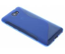 Blaue S-Line TPU Hülle für Huawei Y5 2/Y6 2 Compact
