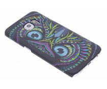 Eule Aztec Animal Design Hardcase für Samsung Galaxy S6 Edge