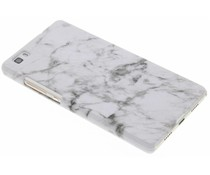 Glow in the dark Marmor Look Hardcase für Huawei P8 Lite