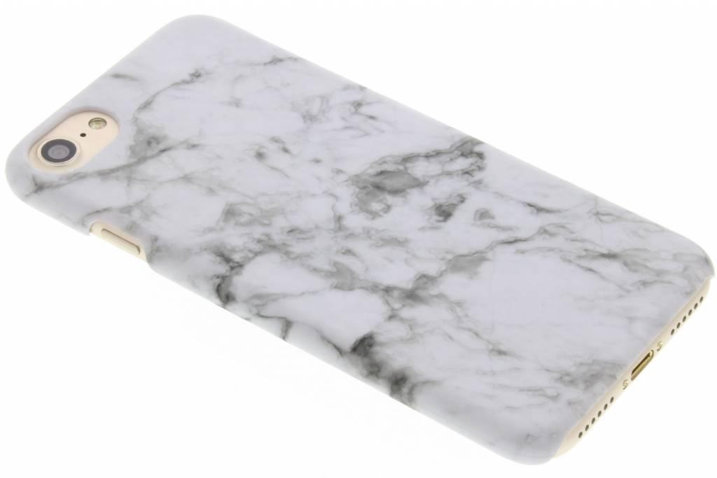 Marmor Look Hardcase Hülle Weiß für iPhone 8 / 7