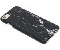 Marmor Look Hardcase Hülle Schwarz für iPhone 8 / 7