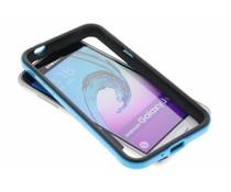 Blaue Bumper Hülle für Samsung Galaxy J3/J3 (2016)
