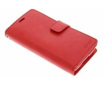 Mercury Goospery Mansoor Wallet Case für Samsung Galaxy S5 (Plus)/Neo - Rot