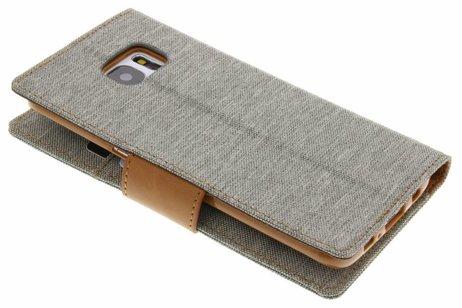 Samsung Galaxy S7 Edge hülle - Mercury Goospery Canvas Diary