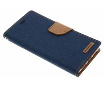Mercury Goospery Canvas Diary Case für Huawei P9 Lite - Blau