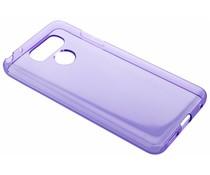 Transparente Gel Case Hülle Violett für LG G6