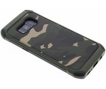 Grüne Camouflage Hardcase-Hülle für Samsung Galaxy S8