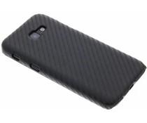 Carbon Look Hardcase-Hülle Schwarz für Samsung Galaxy A5 (2017)