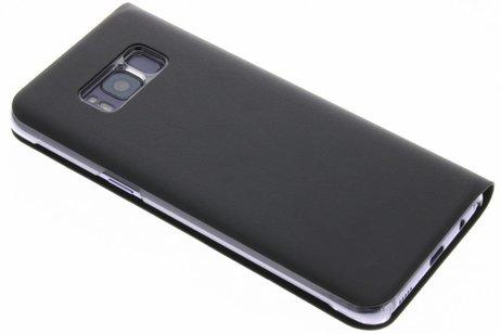 Samsung Galaxy S8 hülle - Schwarze Luxus Slim Booktype