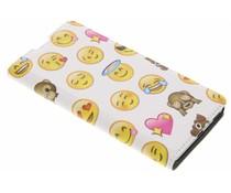 Emoji Design Booklet für Sony Xperia XA