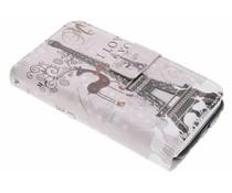 Design TPU Portemonnaie für Huawei P10