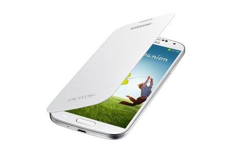 Samsung Original Flipcover für das Samsung Galaxy S4 - Weiß