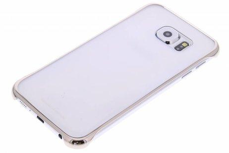 Samsung Original Clear Cover für das Galaxy S6 - Gold
