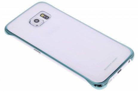 Samsung Original Clear Cover für das Galaxy S6 Edge - Grün