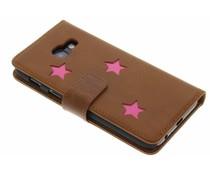 Fabienne Chapot Pink Reversed Star Booktype Handyhülle für das Samsung Galaxy A3 (2017)