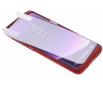 Einfarbiges rotes 360° Protect Case für das Samsung Galaxy S8