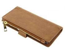 Braune luxuriöse Portemonnaie-Hülle für das Huawei P10 Lite